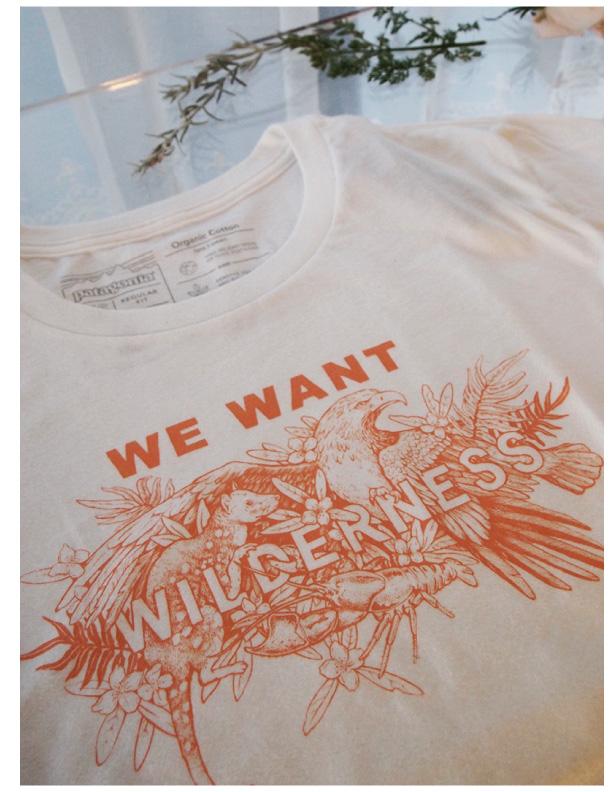 W`s We Want Wlldemess Organic Crew-T