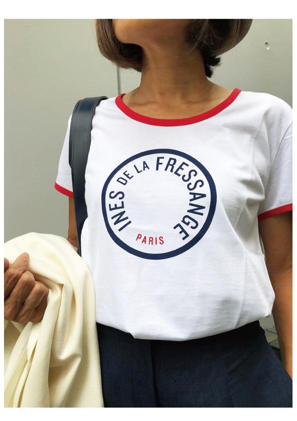 INES DE LA FRESSANGE   PRISCILLA T-SHIRT
