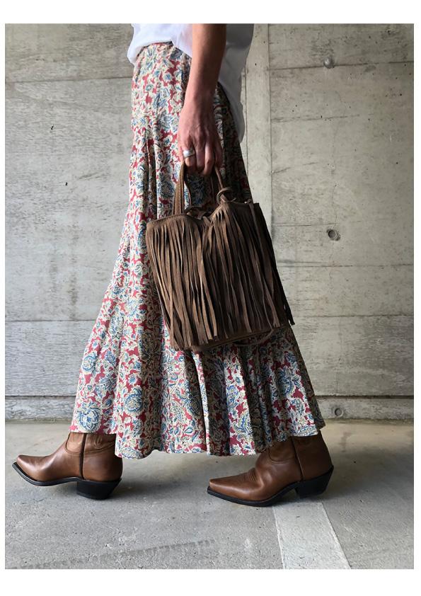 INES DE LA FRESSANGE Bizette Skirt Rayonne